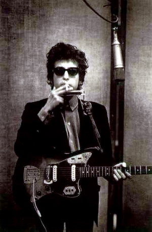 John Frusciante Fender Jaguar Red Fiesta Bob Dylan