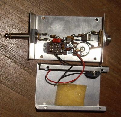 electro harmonix screaming bird treeble booster 39 70. Black Bedroom Furniture Sets. Home Design Ideas