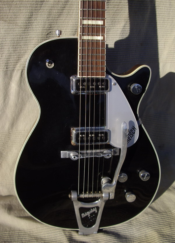 1956 GRETSCH DUO JET BlackTwo De Armond Pickups OHC All Original From My Collections Code VA501